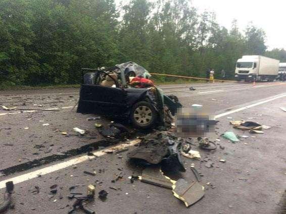 В ДТП погибли четыре политолога и журналист /Фото/
