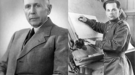 Хуго Шмайссер в своих воспоминаниях пишет: «Если бы не этот придурок Миша Калашников…