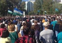 Коренной народ требует: митинг в Уфе за преподавание башкирского в школах собрал 2300 участников