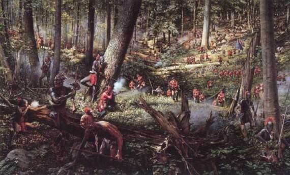 Франко-индейская война как часть Семилетней войны…
