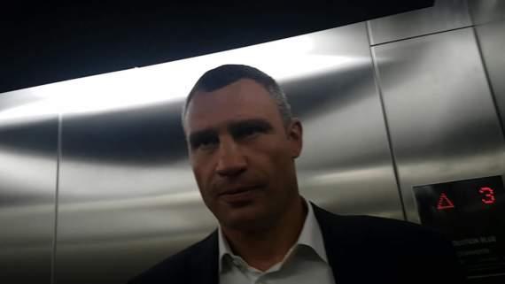 Дурной пример заразителен — Кличко отказался проходить таможню по прилету в Украину и сбежал
