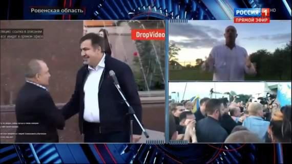 Политический 3,14дарас Кива в эфире Россия1: Когда мы Аваковым сместим Порошенко — договоримся с РФ
