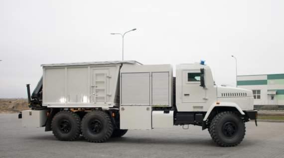 Наш арсенал: піротехнічна машина важкого типу КрАЗ-6322 ПМ-В