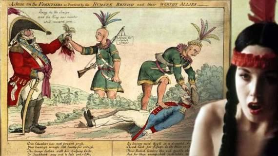Кто научил индейцев снимать скальпы