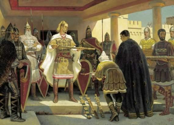 СВЯТОСЛАВ ЗАВОЕВАТЕЛЬ: зачем историки нам лгут?