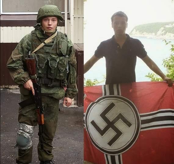 Российские фашисты в сирийской пустыне
