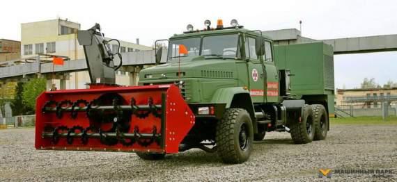 Український арсенал: КрАЗ-6322 «Снігоприбиральник»
