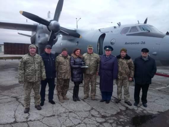 Черговий Ан-26 після капітального ремонту передано Повітряним силам ЗСУ