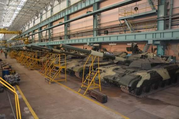 Завод Малишева відремонтував чергову партію танків для ЗСУ