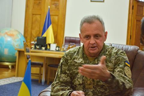 Віктор Муженко: «Ми передбачаємо переформатування сил, які беруть участь в АТО, вже з урахуванням введення миротворців»