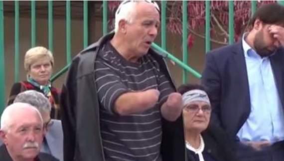 В  Нальчике(РФ) на безрукого активиста завели дело о «нападении» на полицейского
