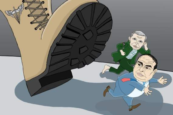 ДШВ ВСУ заставили Захарченко наложить в штаны