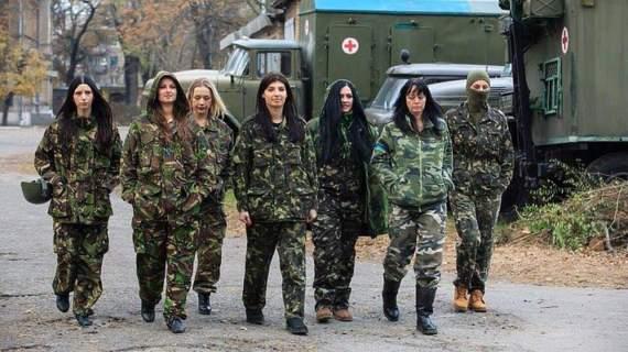 В рядах ВСУ служит 22 771 женщина, из которых 6 тысяч участвовали в боевых действиях на Донбассе