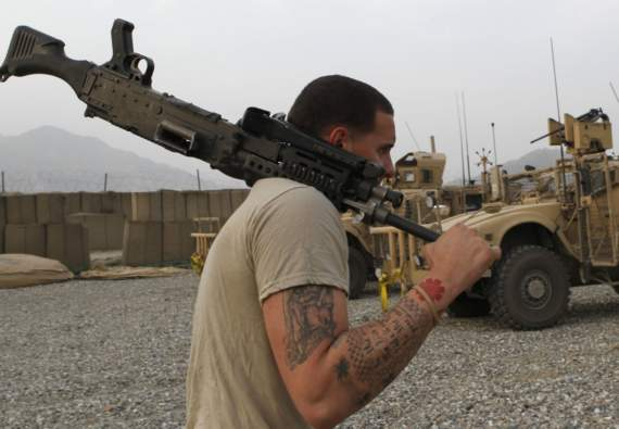 Служба в вооруженных силах США – взгляд изнутри