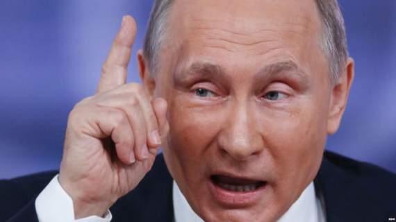 «Вб'ють твою маму» : дивний жарт Путіна на прес-конференції