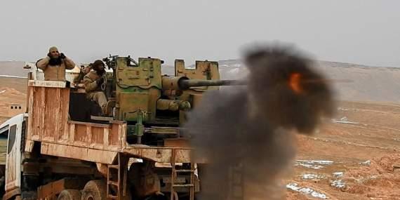 Советские пушки вконфликтах на Ближнем востоке