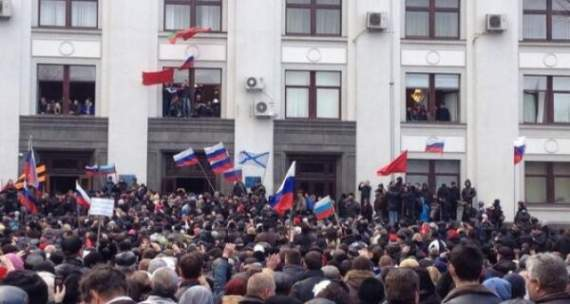В захвате Луганской ОГА в 2014 году принимали участие российские студенты, – СБУ