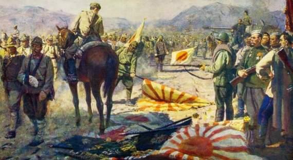 Ктокого: самурайский штык против русской пули