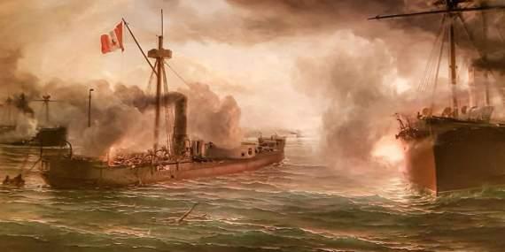 Броненосец«Уаскар»: злоключения надежды перуанского флота