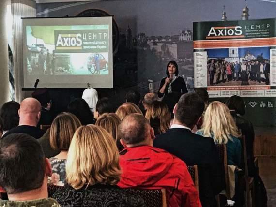 Годовщина со дня открытия Центра AXIOS – созданного для помощи ветеранам АТО