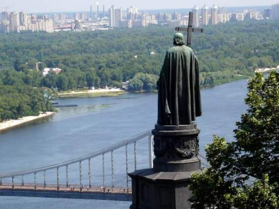 Пам'ятник князю:таємниці бронзового Володимира