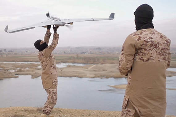 Обзор боевого применения беспилотников террористами халифата