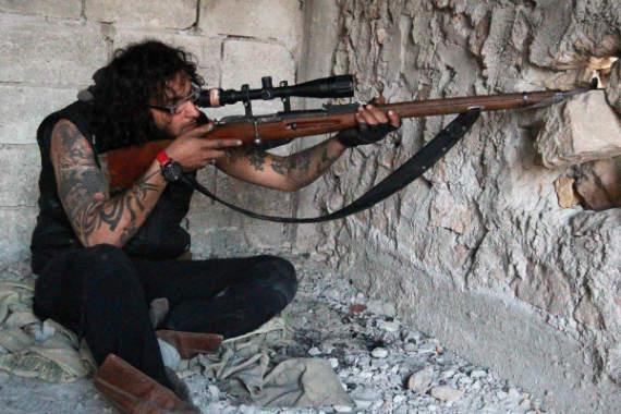 Оружие второй мировой на фронтах сирийской войны