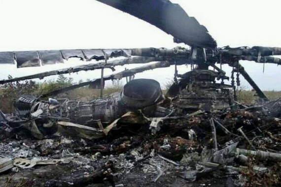 Крушение российского вертолета в Сирии, есть погибшие