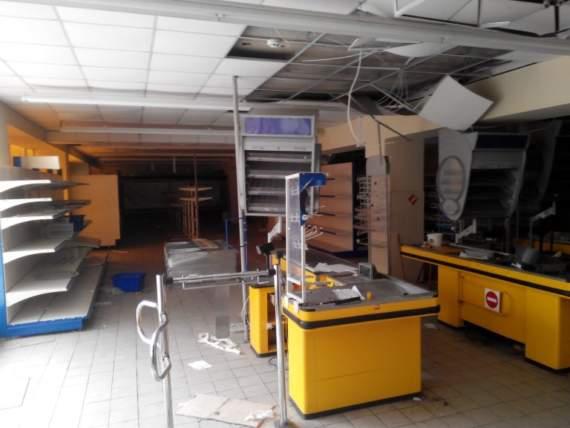 Заброшенные украинские супермаркеты в ЛНР (фоторепортаж)