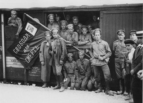 Взятие Киева войсками Муравьева. Январь 1918 года