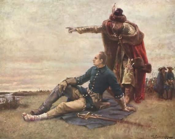 Интересные факты про участников Полтавской баталии