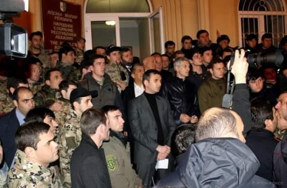Оккупированная Абхазия на пороге революции