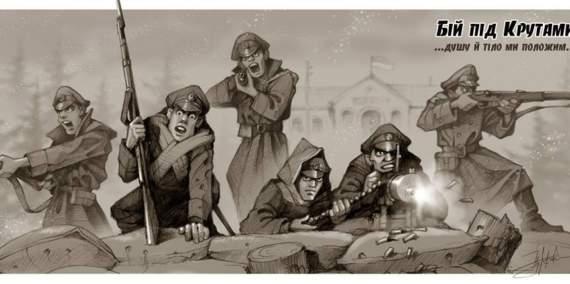 Бій під Крутами. Хронологія за спогадами учасників битви