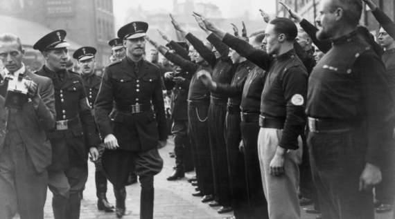 Освальд Мослі – британський фашист, який мріяв побудувати «країну гідну героїв»