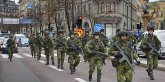 Швеция готовится к войне