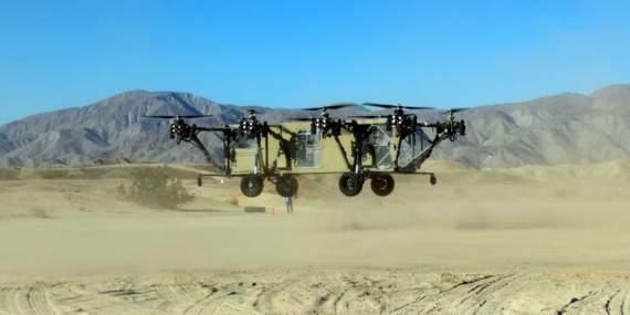 Оружие будущего: вертолет-трансформер Black Knight Transformer