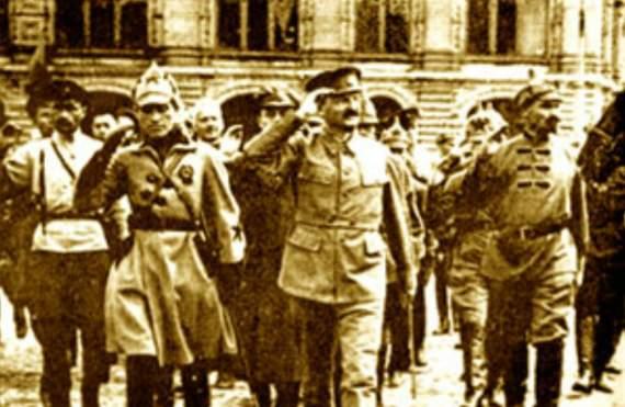 О празднике 23 февраля и о создании Красной армии