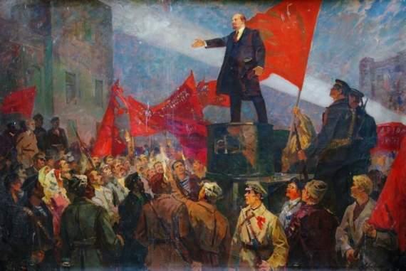 Сколько раз Ленин выступал с броневика.