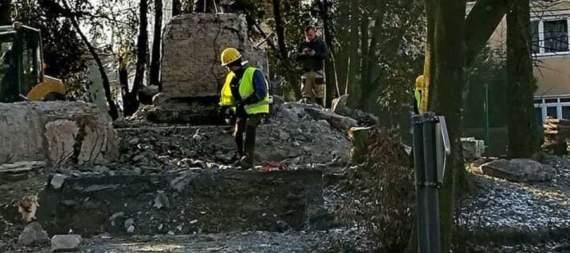 У Польщі зносять пам'ятник подяки Радянській армії