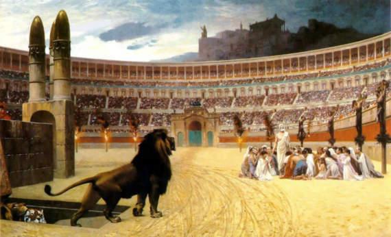 Жестокие игры: Кровавые народные развлечения Древнего Рима
