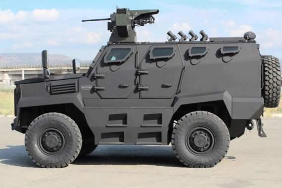 В Турции успешно испытали новый броневик