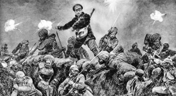 Какиндийцы воевали наЗападном фронте Первой Мировой