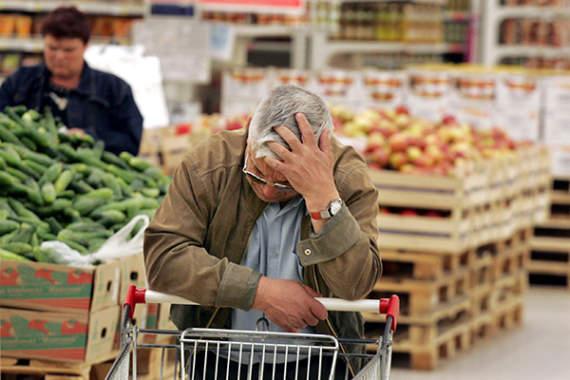 Из-за блокады границы с РФ в «ДНР» резко растут цены!!