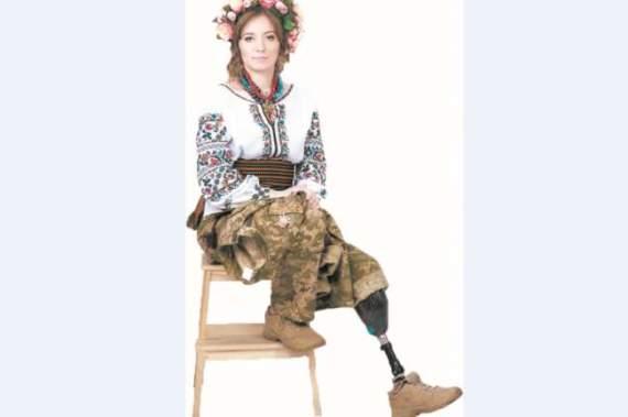 Потеряв ногу в АТО, солдат Ольга Бенда служит в ВСУ и готовится к «Играм непокоренных»