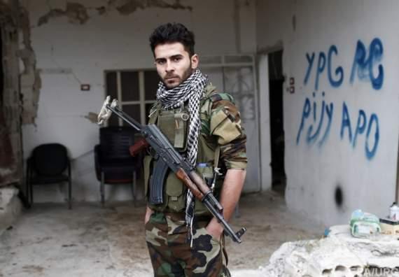 Западные добровольцы на стороне сирийских курдов