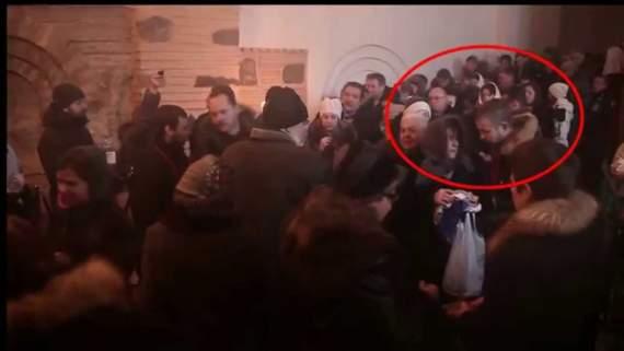 Гіркін і Малофєєв в Києві 24.01.2014 — Гиркин («Стрелков») в Киеве