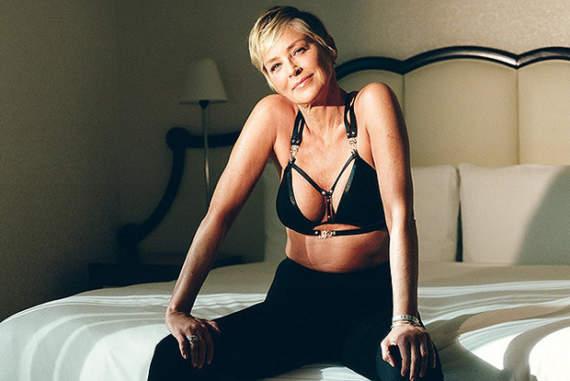 Напередодні 60-річчя Шерон Стоун поділилася секретами вічної молодості і сексуальності
