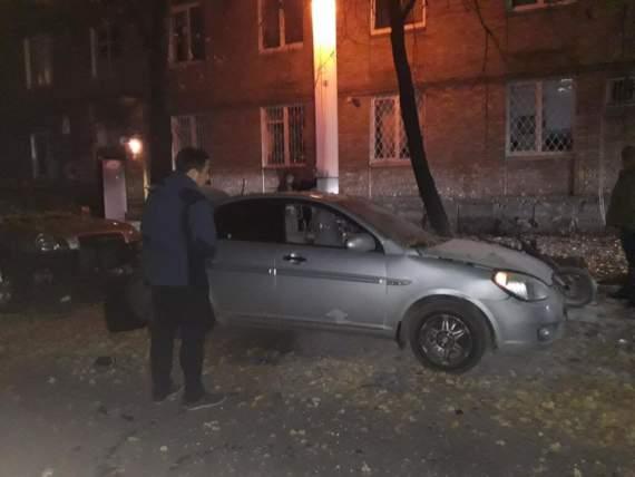 В Донецке ночью произошёл сильный взрыв!