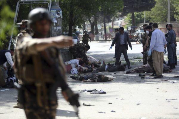 Серия терактов в Кабуле: погиб 21 человек, 27 пострадавших