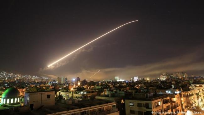 Роспропагандисты выдали видео обстрела Луганска за удар по Сирии /Видео/